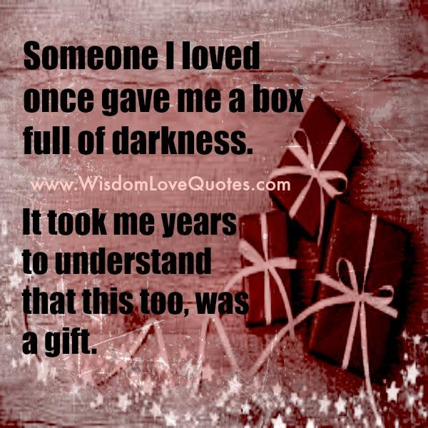 A Box full of Darkness