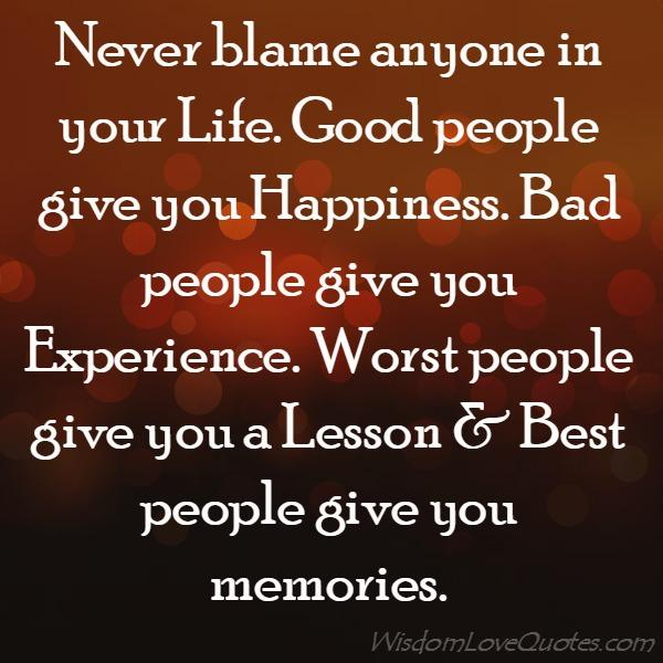 Worst people give you a Lesson   Wisdom Love Quotes