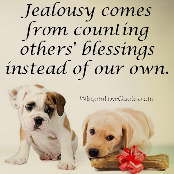 Why a person gets jealous?