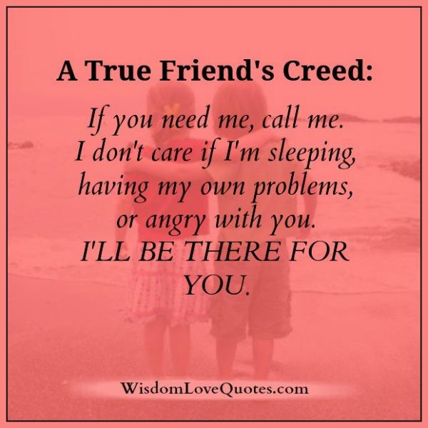 a-true-friends-creed