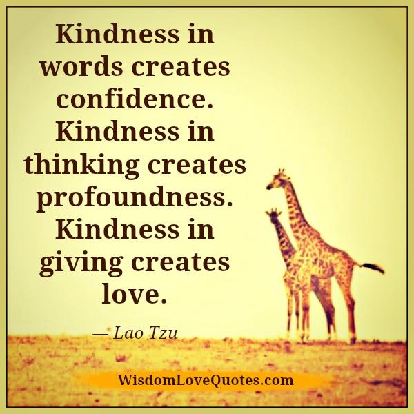 kindness-in-words-creates-confidence
